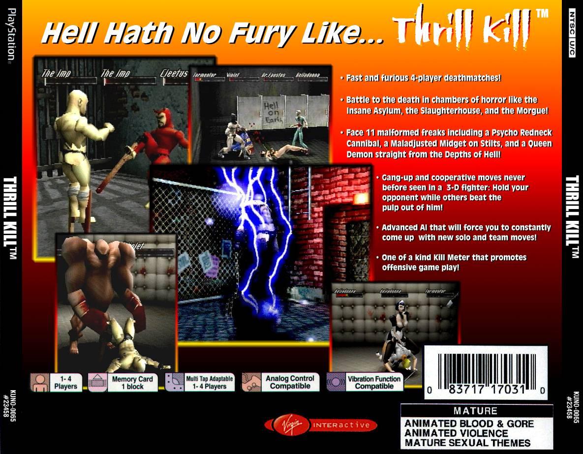 Fuzzd0rk's Thrill Kill